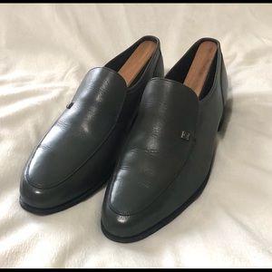Vintage Florsheim Imperial Men's Gray Loafer sz 8D